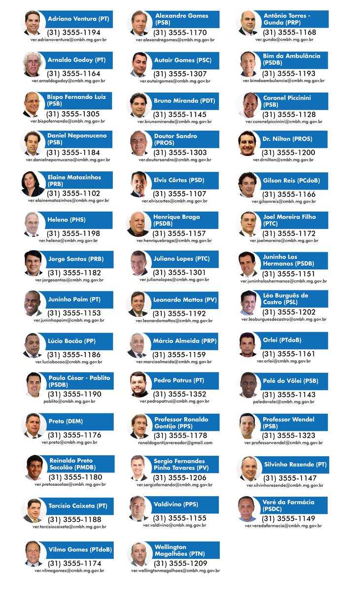 Vereadores de Belo Horizonte